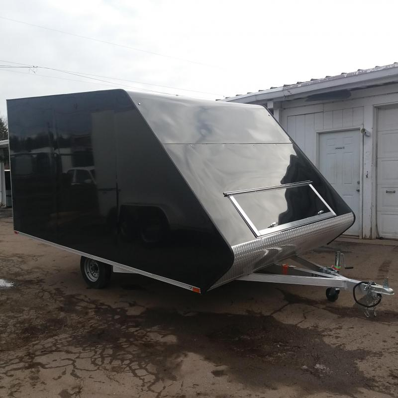 8.5 X 13 Enclosed Snowmobile Trailer