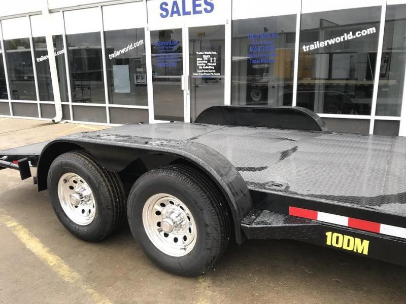 2018 Big Tex 10DM - 18' Steel Deck Open Car Hauler Trailer