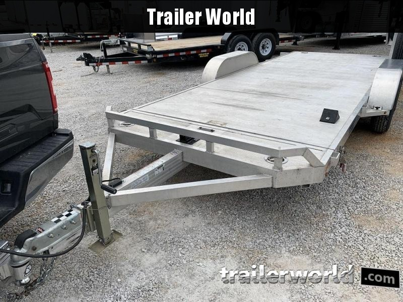 2016 Aluma 19.5' Aluminum Tilt Bed Open Car Hauler Trailer
