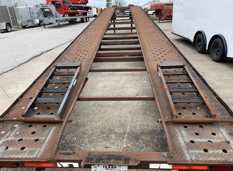 2001 Take 3 Trailers 3 or 4 car wedge Flatbed Trailer