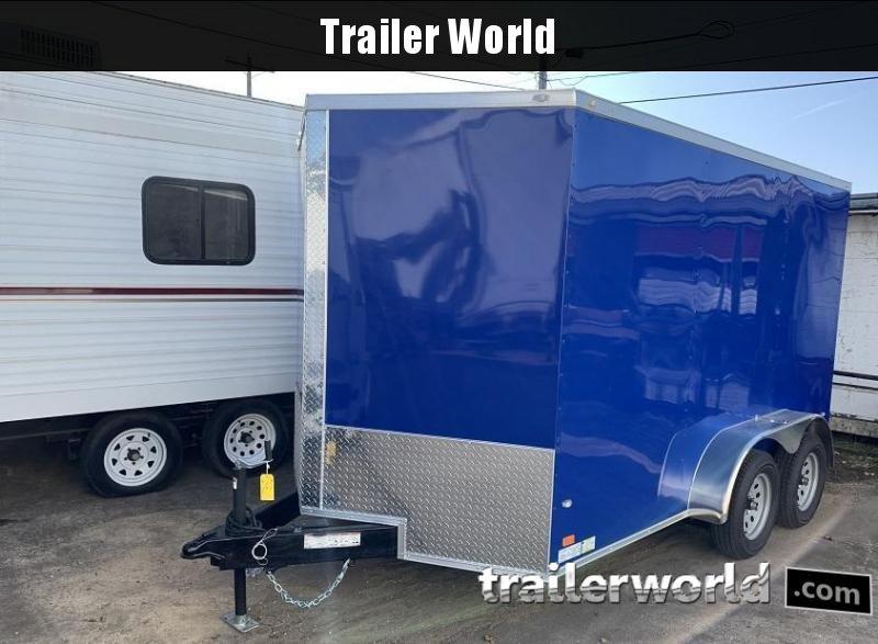 2020 CW 7' x 12' x 6'6 Enclosed Cargo Trailer