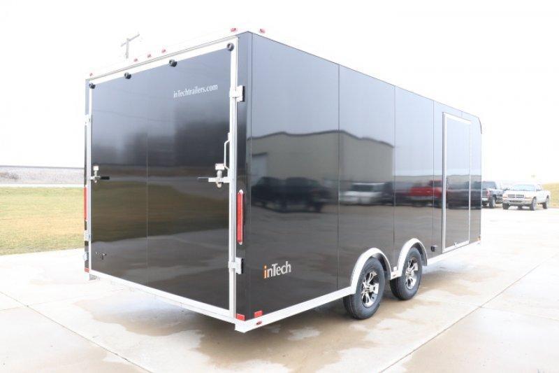 2020 inTech  20' Lite Aluminum Enclosed Car / Race Trailer