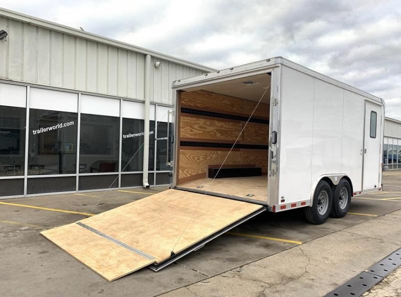 2020 Continental Cargo AM 8.5 x 16 Enclosed Cargo Trailer 12k GVWR