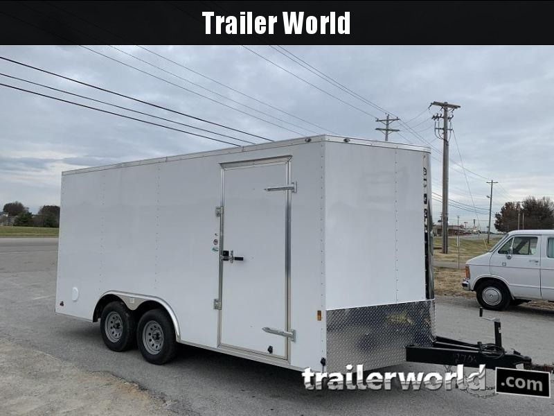 2020 Continental Cargo 8.5' x 16' x 6.6' Enclosed Cargo Trailer