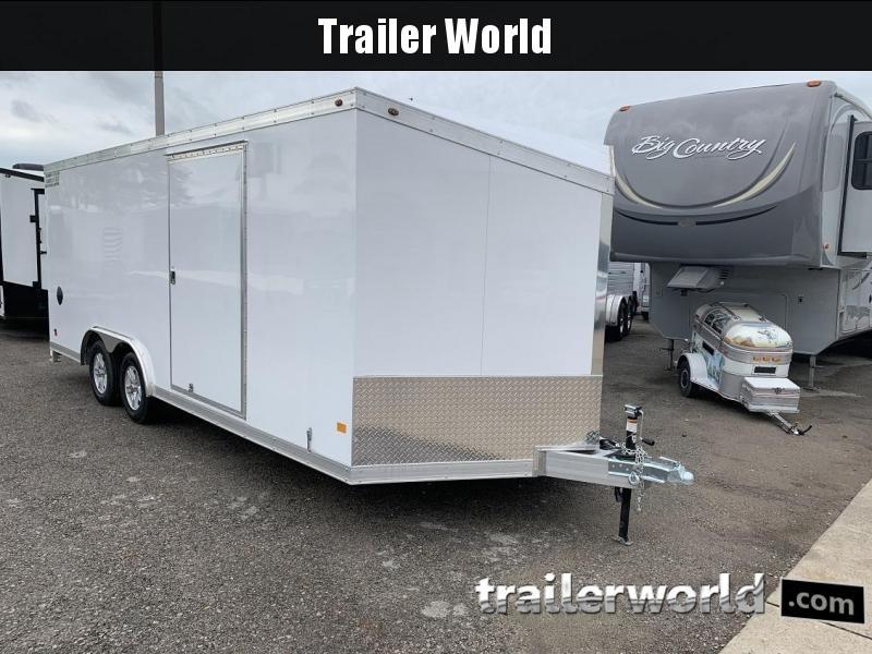2019 Haulmark HAUV8.5x20WT2 8.5' x 20' x 6.5' Aluminum Enclosed Car Trailer