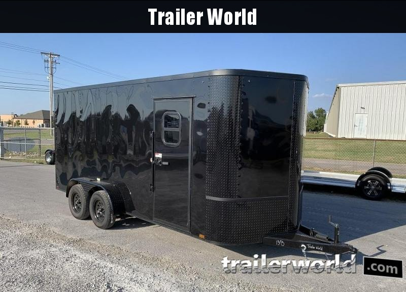 2020 ARI 7' x 16' x 7' Enclosed Cargo Trailer w/ Windows