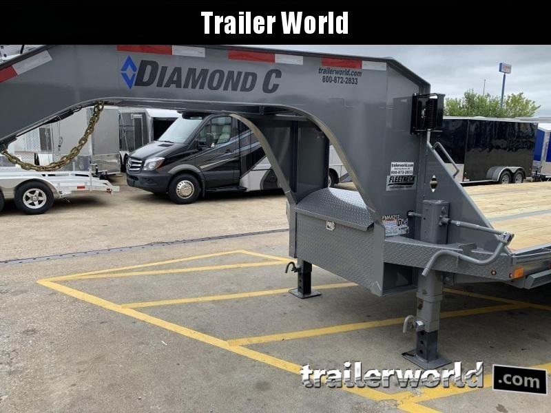 2020 Diamond C FMAX212 40' Hot Shot Trailer AIR RIDE