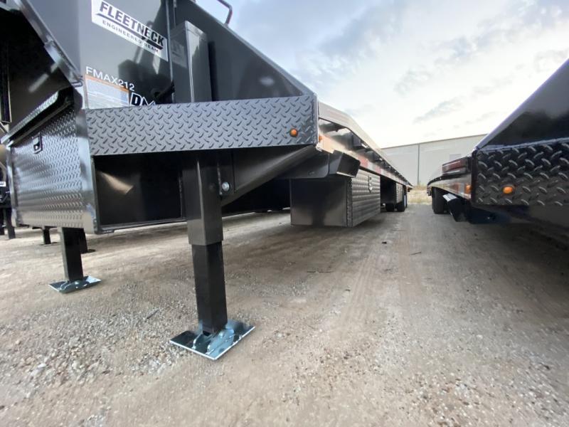 2020 Diamond C FMAX212 40' Hydraulic Dovetail Air Ride Trailer