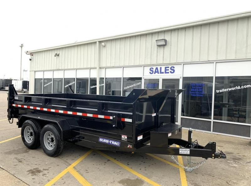 2020 Sure-Trac 82 IN X 14 LP 14K Dual Ram Dump Trailer
