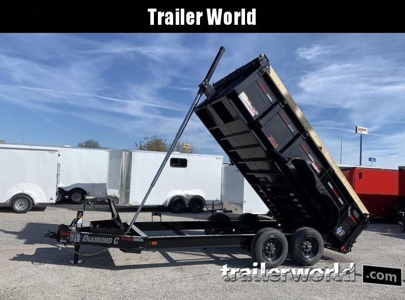 2020 Diamond C  LPT 14' Dump Trailer Low Profile Commercial Grade 18k GVWR