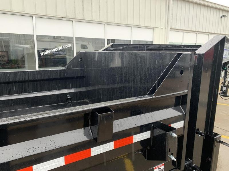 2020 Sure-Trac 14' Goose Telescopic Dump Trailer 14k GVWR