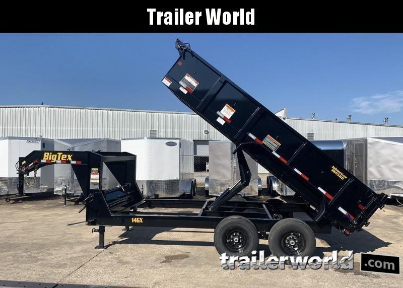 2020 Big Tex Trailers 14GX-16' Gooseneck Dump Trailer