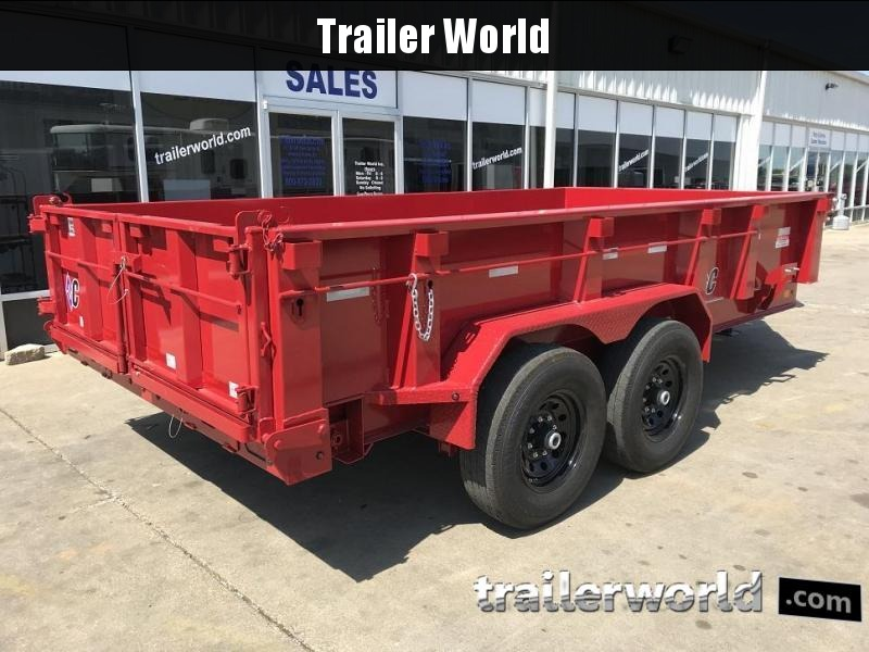 2020 Diamond C LPD 14' Dump Trailer Low Profile Commercial Grade