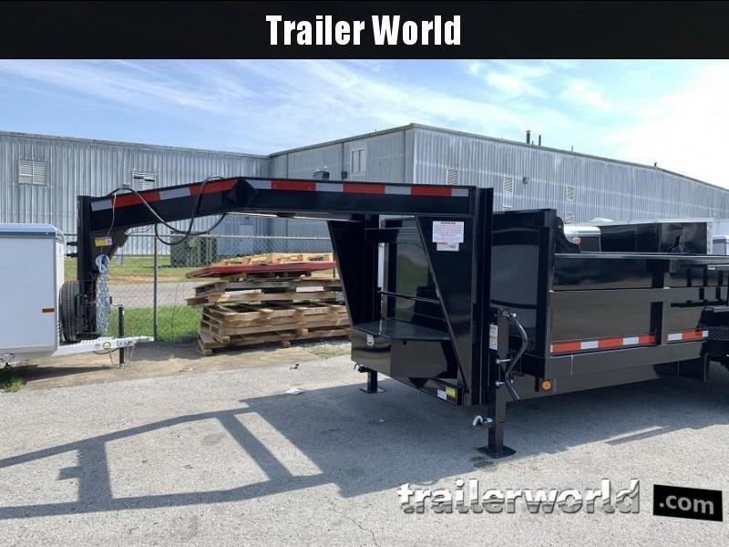 2020 QS 16' Gooseneck Dump Trailer 14K GVWR