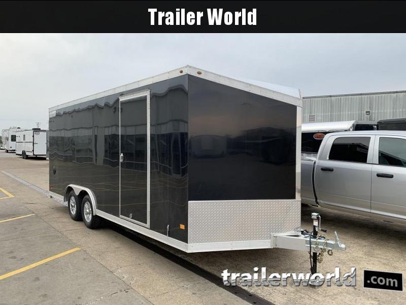 2019 Haulmark HAUV8.5x20WT3 8.5' x 20' Aluminum Enclosed Car Trailer