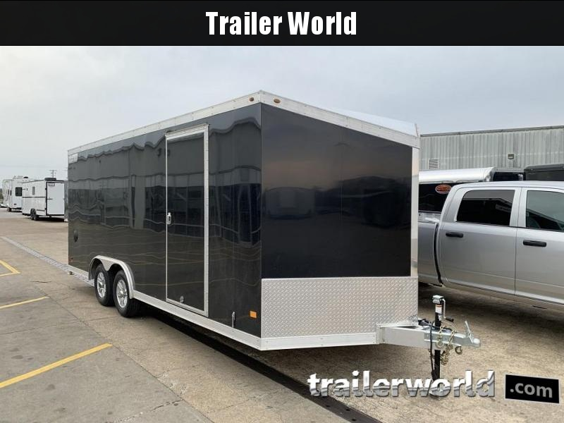 2019 Haulmark 20' Aluminum Enclosed Car Trailer - CLEARANCE