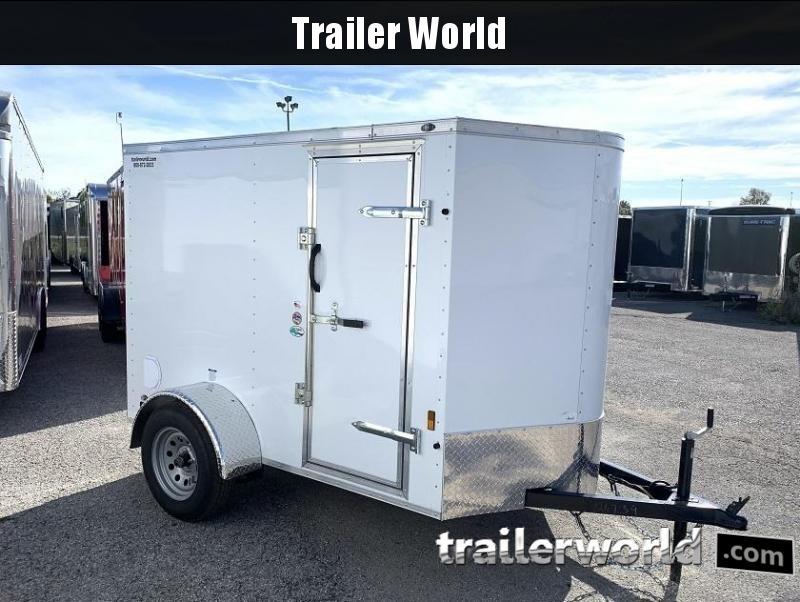 2020 Continental Cargo 5' x 8' x 5.5' V nose Enclosed Cargo Trailer