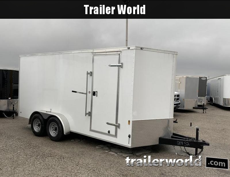 2020 Continental Cargo 7' x 16' x 6.9' Enclosed Cargo Trailer 10k GVWR