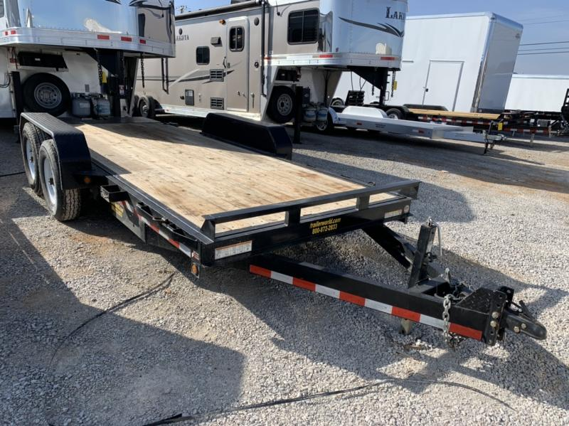 2016 Sure-Trac 18' Tilt Bed 14k GVWR Equipment Trailers
