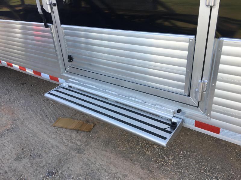2019 Sundowner XTRA 38' Aluminum Gooseneck Enclosed Car Trailer