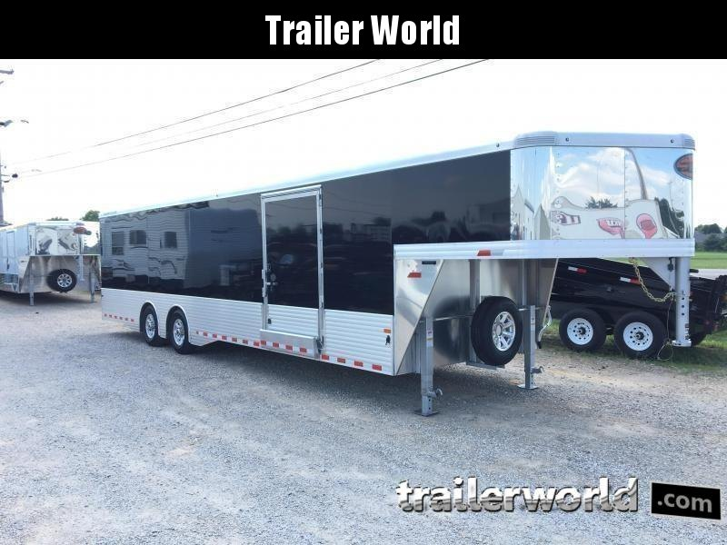 2019 Sundowner XTRA 38' Aluminum Gooseneck Enclosed Car Trailer
