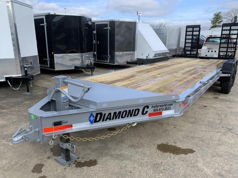2020 Diamond C LPX 22' Low Profile 10 Ton Equipment Trailer