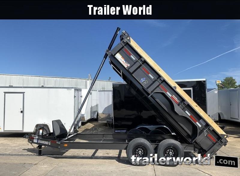 2020 Diamond C LPT 14' Dump Trailer Low Profile Commercial Grade