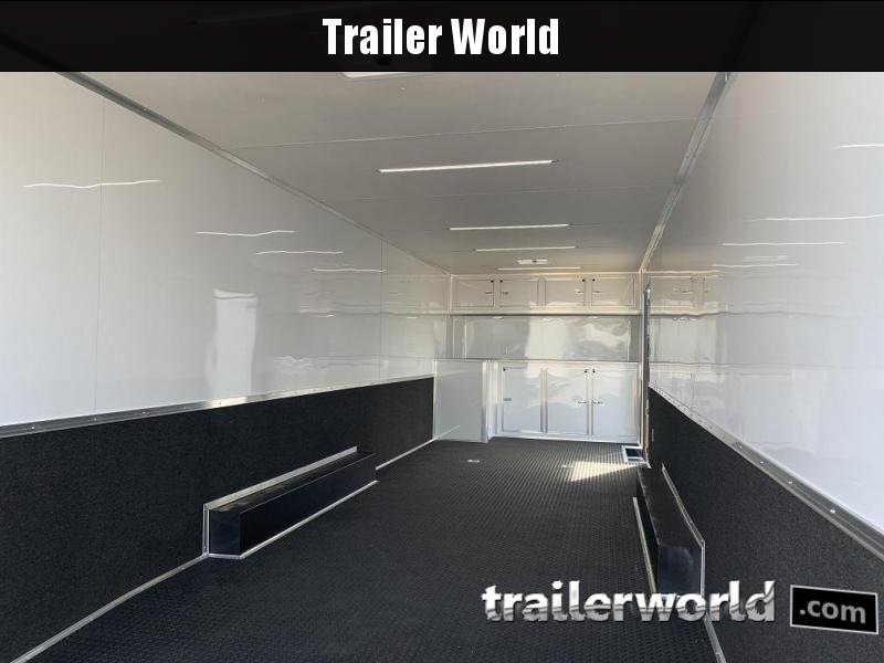 2020 Continental Trailers 28' Race Trailer Black-Out