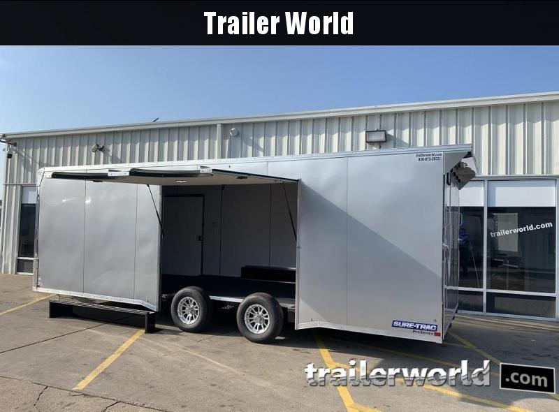 2020 Sure-Trac Race 24' Enclosed Car / Race Trailer