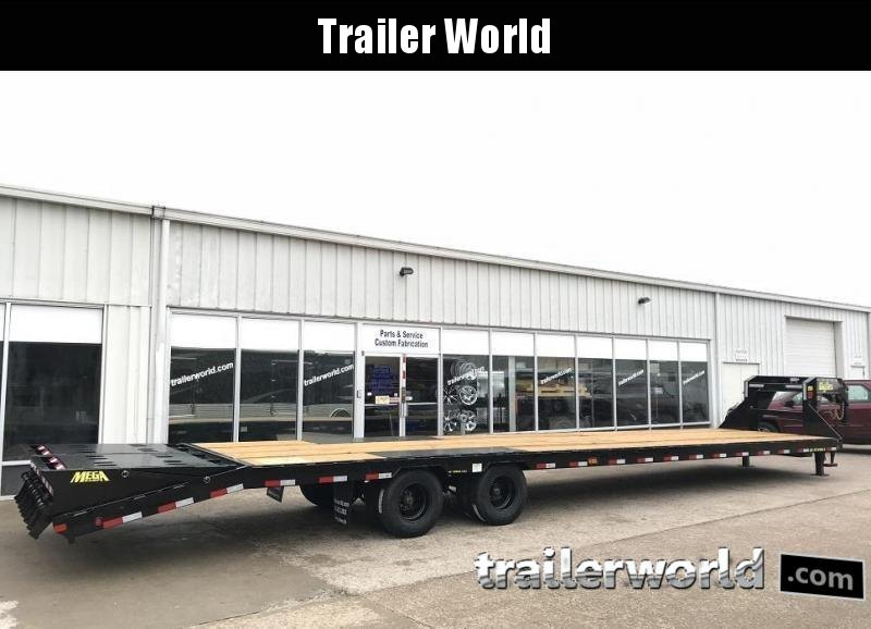 2020 Big Tex 25GN-35' + 5' Gooseneck Trailer 25900 GVWR MEGA Ramps