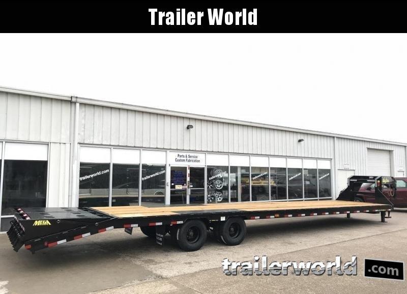 2020 Big Tex 25GN-35' + 5' Gooseneck Trailer 25900 GVWR MEGA Ramps