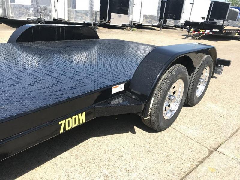 2019 Big Tex 70DM 18' Open Steel Car Hauler Trailer