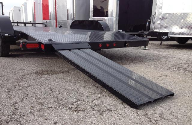 2019 Big Tex 70DM 18' Open Steel Car Hauler Trailer
