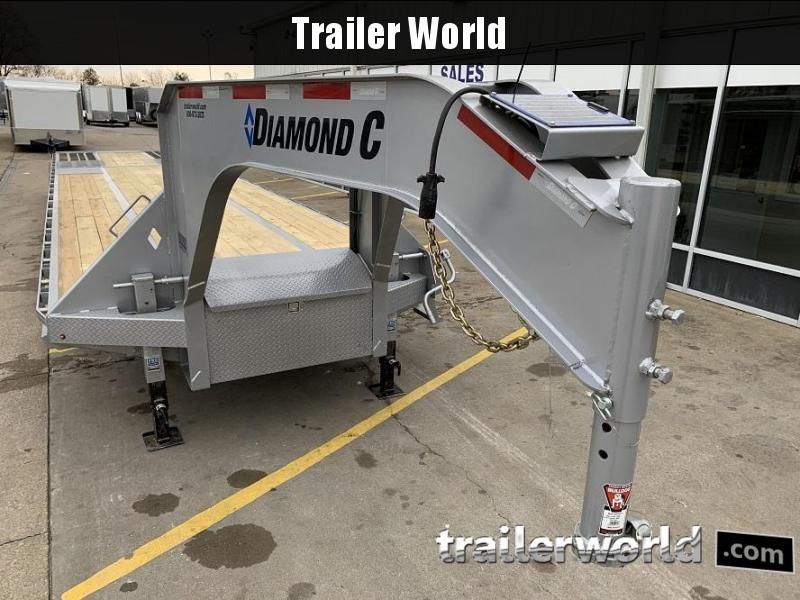 2020 Diamond C FMAX212 40' Hydraulic Dovetail HOT SHOT Trailer