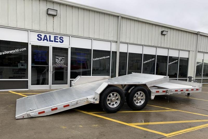 2021 Aluma 8222- 22'  16' + 6' Tilt bed  Equipment Trailer 14k