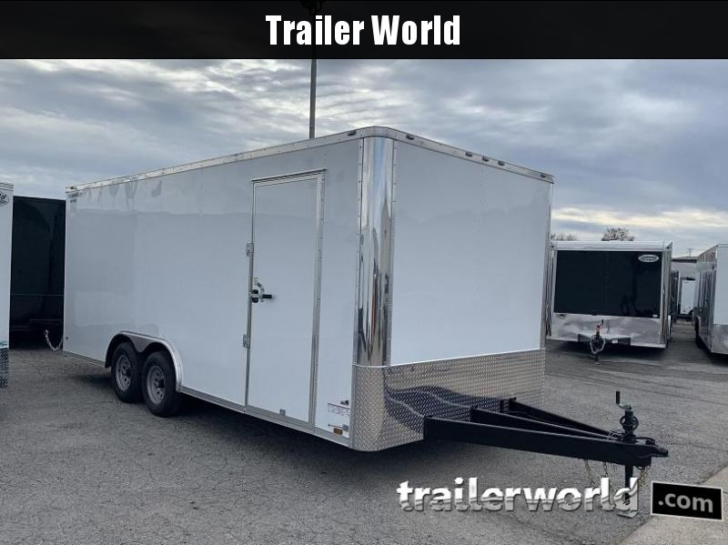 2020  20' Enclosed Car Trailer 7' Tall 10k GVWR