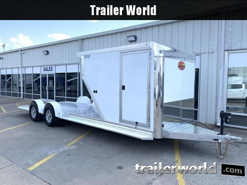 2020 Sundowner Outdoorsman 25' Aluminum Enclosed / Open Trailer