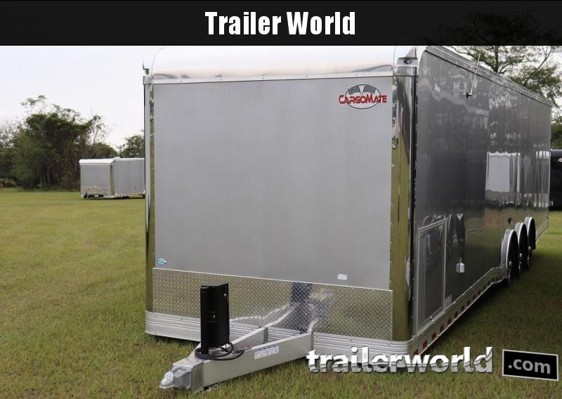 2020 Cargo Mate 34' Eliminator Aluminum Race Trailer