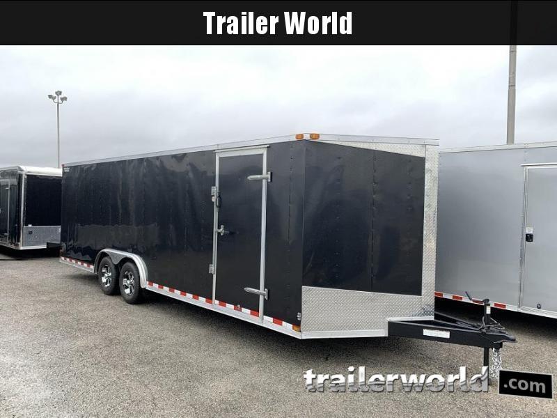 2014 Lark 24' Enclosed VNose Car Hauler Trailer 10k GVWR
