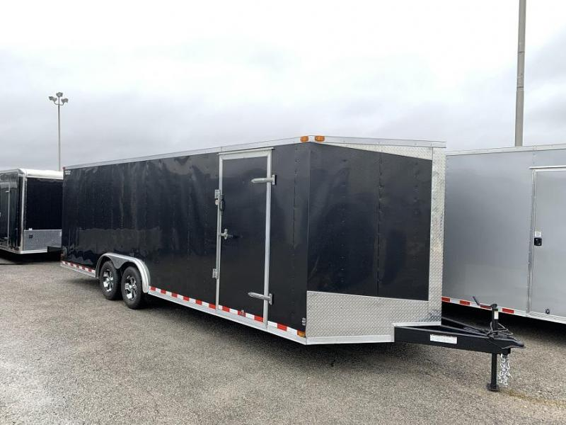 2014 Lark 24' Enclosed VNose Car Hauler Trailer 10k GVWR