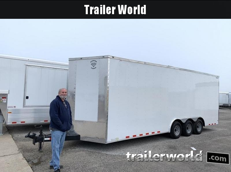 2019 Diamond Cargo 24 Vnose Enclosed Car Trailer