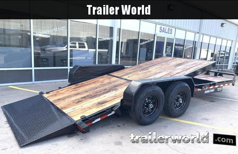 2020 Sure-Trac 7 X 16 + 4 Tilt Bed Equipment Trailer  14K
