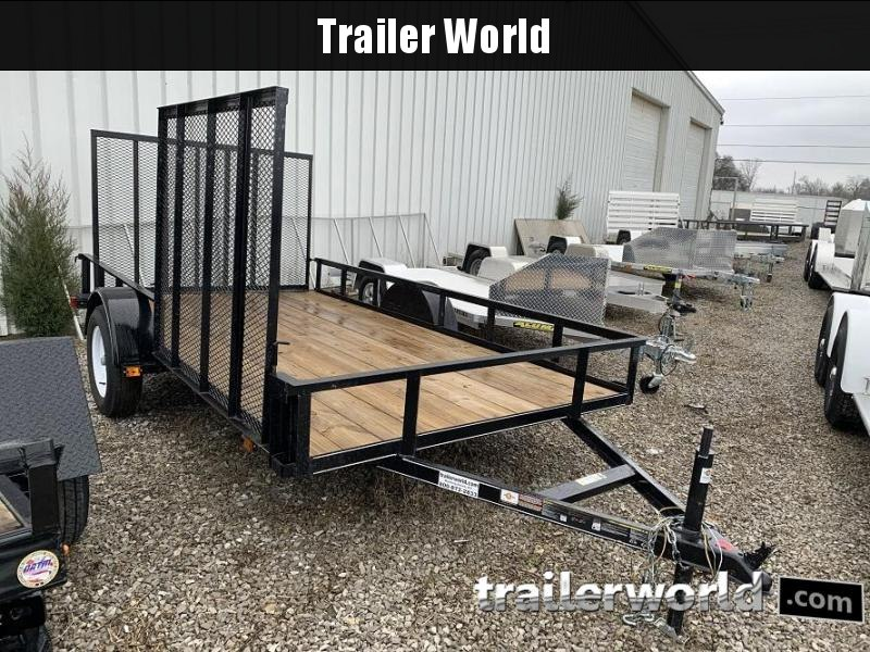 2016 Carry-On 6x12 Utility ATV Mower Trailer