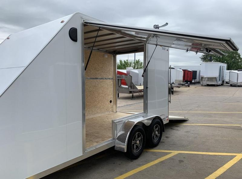 2019 Legend 7' x17' All Sport Aluminum Side x Side Hauler Trailer