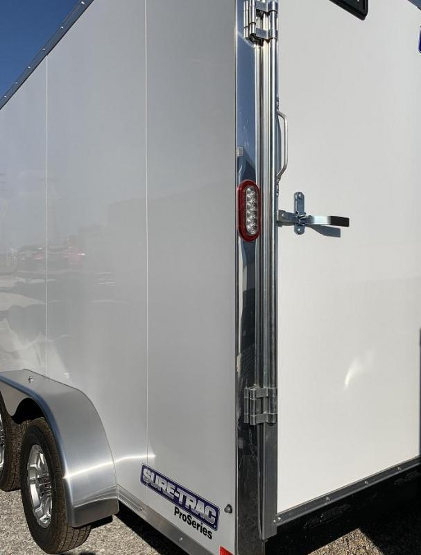 2020 Sure-Trac 7' x 14' x 7.5' Pro Series Wedge Cargo Trailer  7K