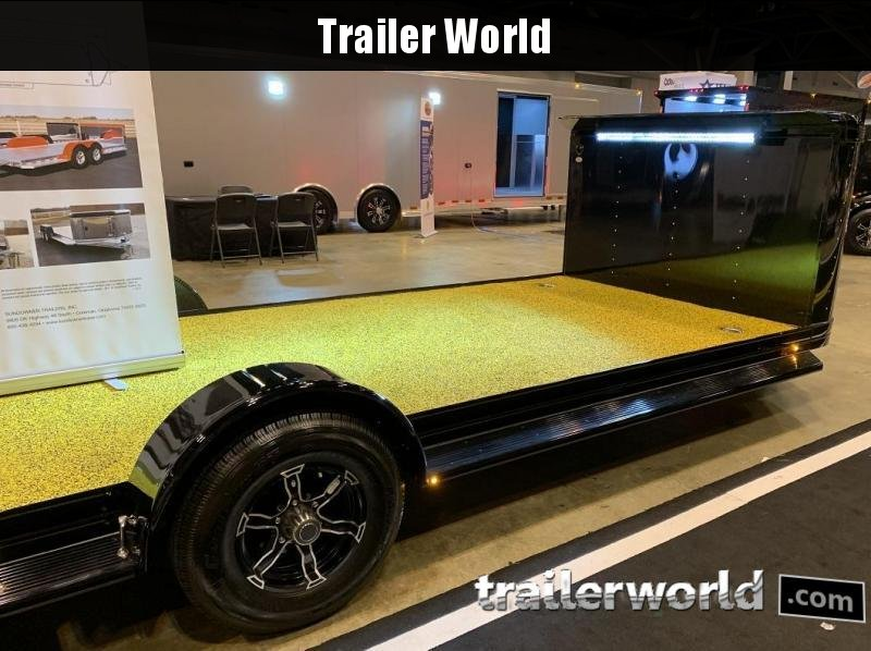 2020 Sundowner ULTRA 24' Custom Aluminum Open Car Hauler Trailer