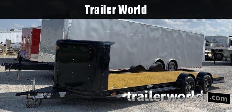 2020 Sundowner ULTRA 24' Custom Aluminum Open Car Hauler Trailer