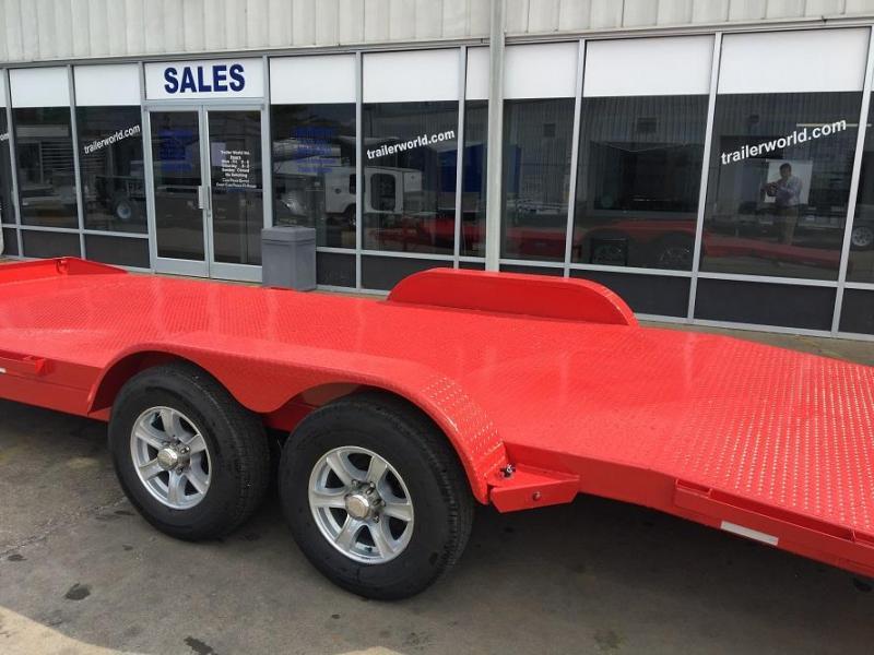 2020 Sure-Trac 20' Steel Deck Car Hauler Trailer 10k GVWR