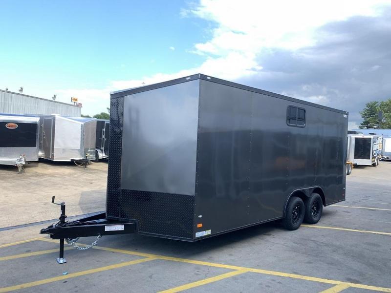 2020 CW 8.5' x 18' x 7' Tall Vnose Enclosed Cargo Trailer Camper Prep Pkg