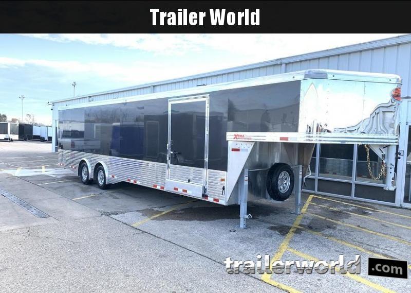 2020 Sundowner XTRA 38' Aluminum Gooseneck Enclosed Car Trailer